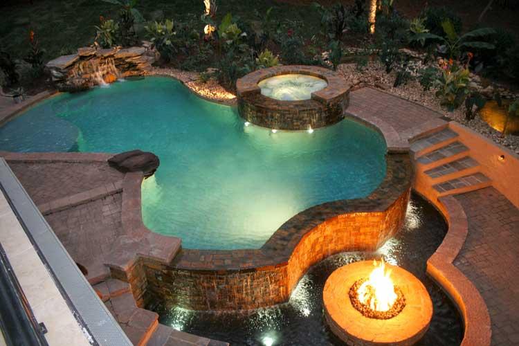 Frank Bowman Designs Inc Swimming Pool Landscape